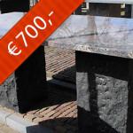 Graniet multi-color Red gepolijst type 2031