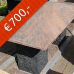 Graniet Rosa Multi gepolijst  type 2033