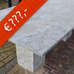Chinees hardsteen, complete tafel blad + onderstel type 2014