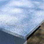 Graniet licht gezoet 200 x 100 x 3 cm
