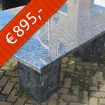 Graniet Blue Pearl Dark gepolijst 2038