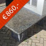 Graniet Blue Vrede Ubatuba gepolijst type 2039
